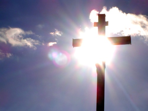 Cross with Sun
