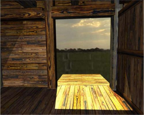Noah's Ark: Entry Door Looking Out (Image Credit: http://asknoah.org/art_gallery2)
