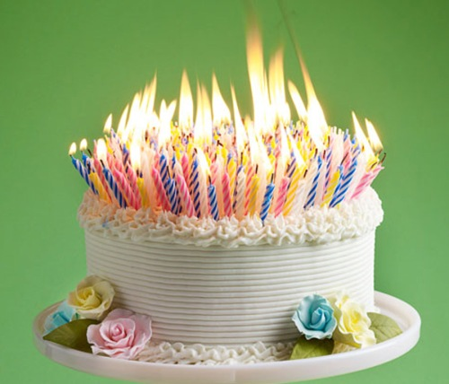 Beautiful-birthday-cakes-with-candles