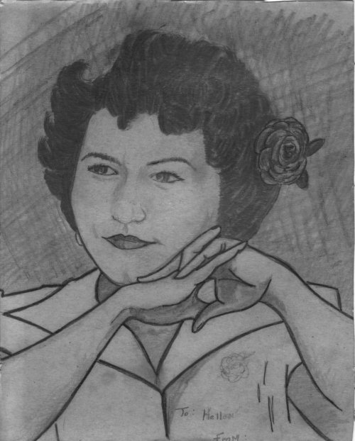 Elena Enriquez Carrasco (1928 - 2001)