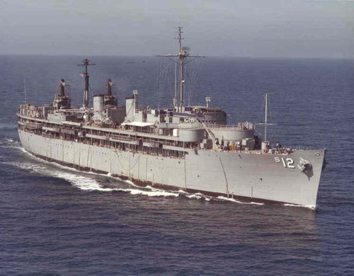 USS Sperry (AS-12) 1941 - 1982