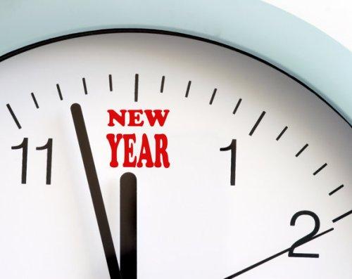 new-year-clock